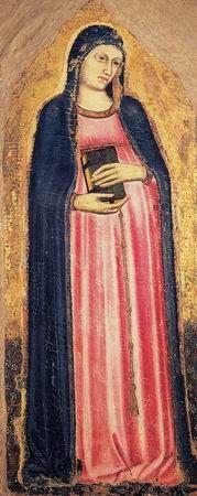 Madonna del Parto- Piero della Francesca- affresco (260x203 cm) databile 1455-1465 circa