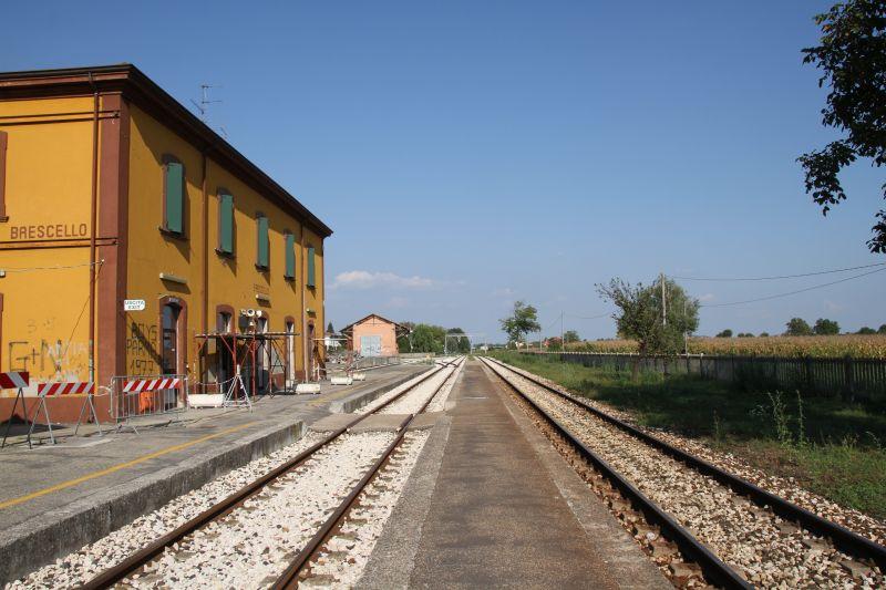 Foto Luigi Boschi: stazione di Brescello (RE) - 2014