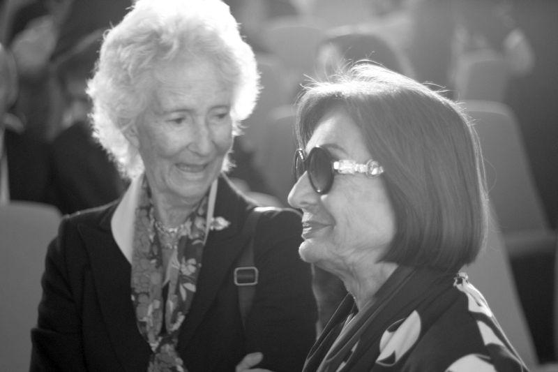 Foto Luigi Boschi: Marilena Barilla con Cristina Muti