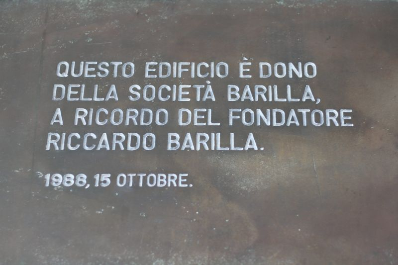 Targa inaugurazione nuova Sede didattica Facoltà Ingegneria di Parma