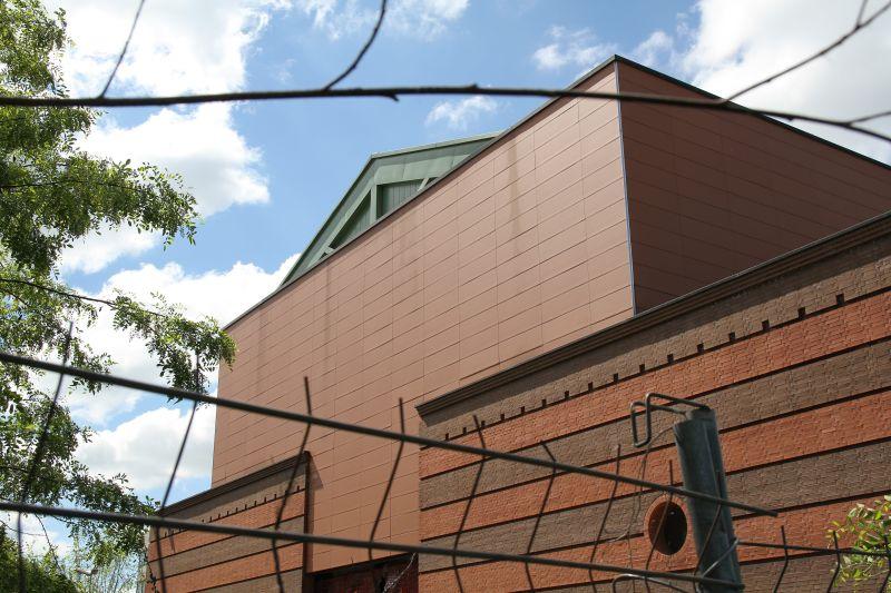 Foto Luigi Boschi: Teatro dei dialetti di Parma abbandonato