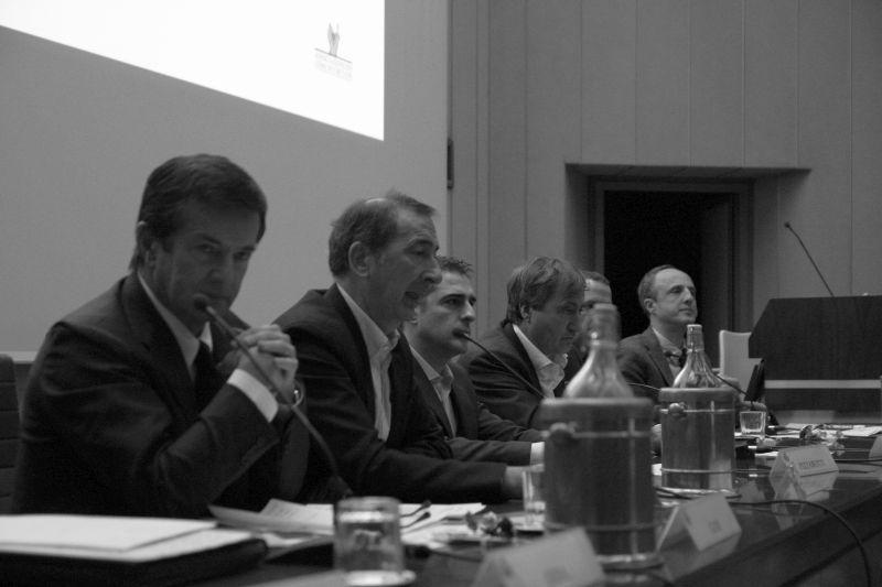 Foto Luigi Boschi: incontro dei Sindaci a Parma
