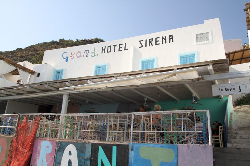Foto Luigi Boschi: Filicudi- Pecorini, Gran Hotel la Sirena 2017