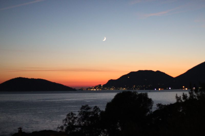 foto Luigi Boschi: tramonto a Fiascherino (Lerici- La Spezia)