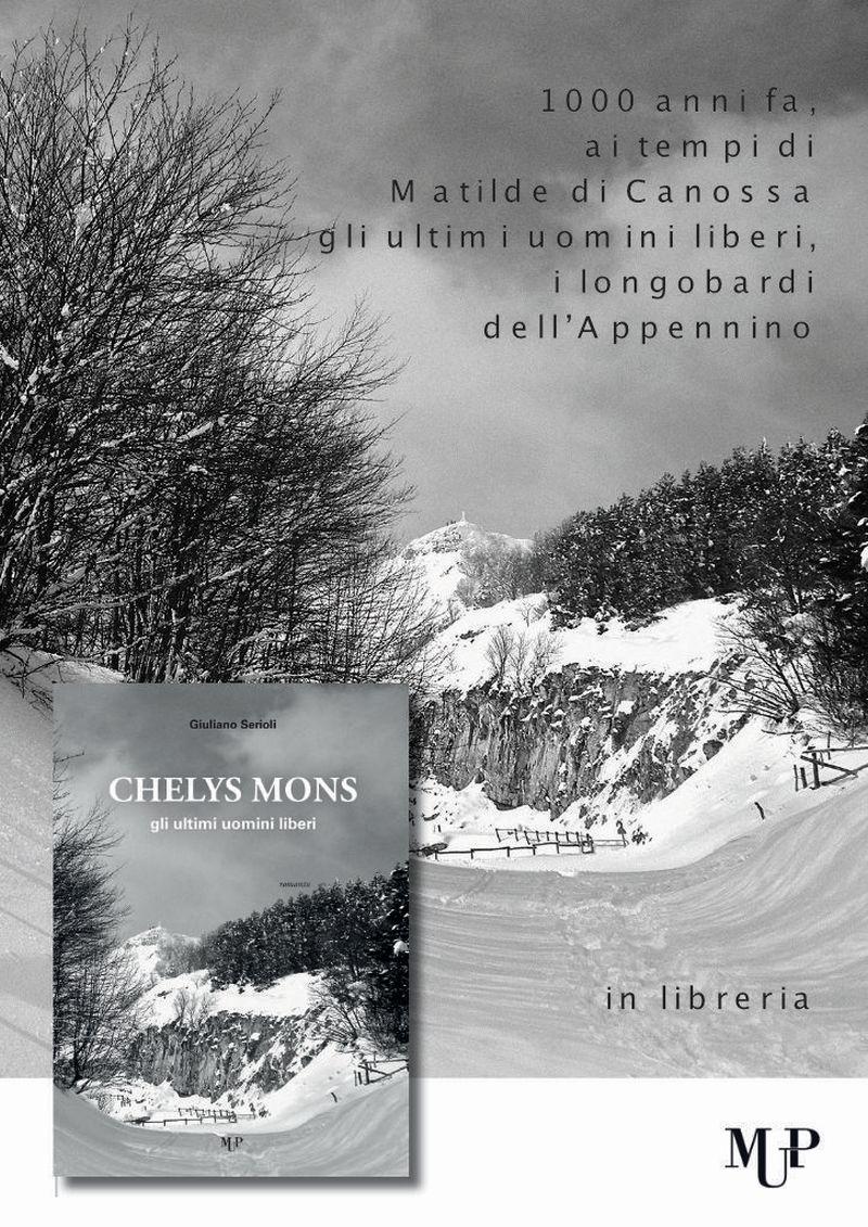Chelys Mons il romanzo storico di Giuliano Serioli editore MUP