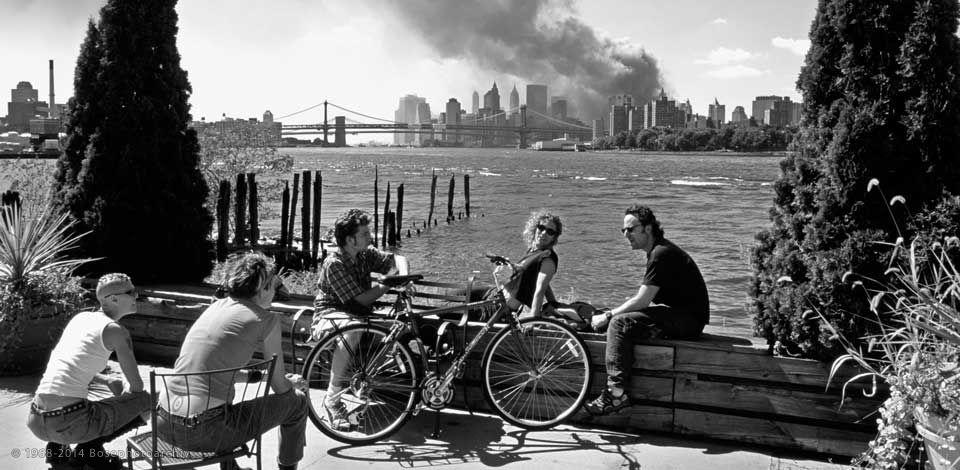 Thomas Hoepker, Brooklyn, New York, 11 Settembre 2001.