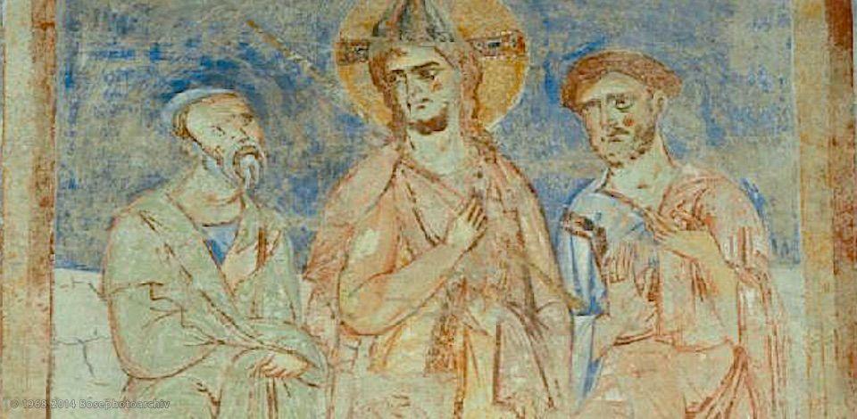 s. Angelo in Formis, Affreschi del XII secolo, Capua (CE)