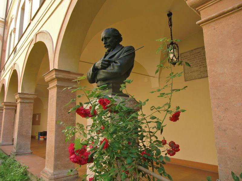 Busto di Arturo Toscanini al Conservatorio Boito di Parma