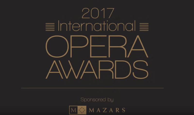 Premio Opera Awards 2017 al Festival Verdi 2017