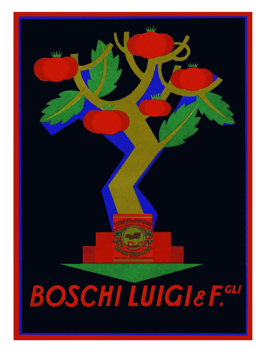 il marchio Boschi Luigi e Figli (depositato a livello europeo) è stato realizzato nel 1926 da Erberto Carboni; ora marchio della testata online