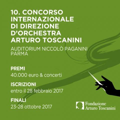 Decimo Concorso Internazionale di Direzione di Orchestra Arturo Toscanini