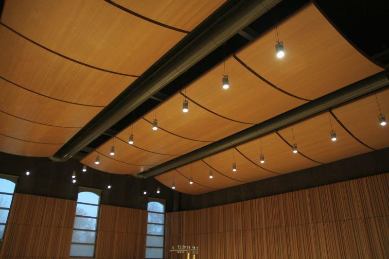 Foto Luigi Boschi: interno sala Prove Gavazzeni del CPM Toscanini