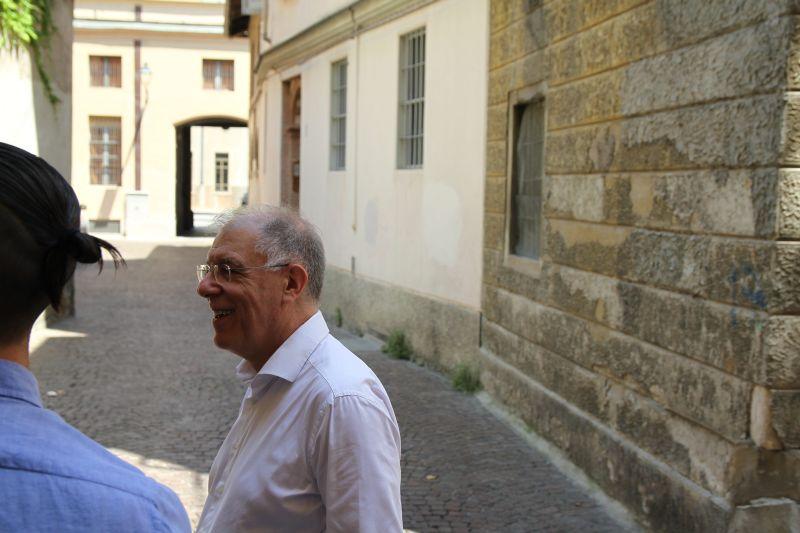 Foto Luigi Boschi: il Maestro Luigi Ferrari Sovrintendente Fondazione Arturo Toscanini