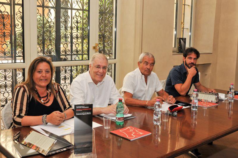 da sinistra: Rosetta Cucchi, Luigi Ferrari, Luciano Pasquini, Francesco Lanzillotta